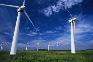 Hawaii, USA --- Windmills Used to Generate Electricity --- Image by © David Frazier/Corbis